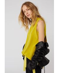 Dorothee Schumacher - Yellow Playful Surprise Blouse Sl. Less - Lyst
