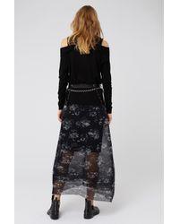 Dorothee Schumacher - Black Nocturnal Transparency Skirt - Lyst