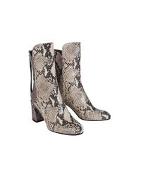Dorothee Schumacher - Multicolor Patched Perfection Snake Mix Boot (7cm) - Lyst