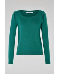 Dorothee Schumacher - Green Drape And Dream Pullover 1/1 - Lyst