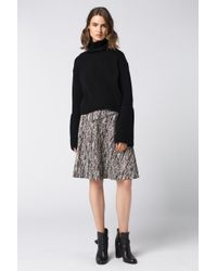 Dorothee Schumacher - Black Texture Skirt - Lyst