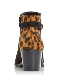 Dorothy Perkins - Head Over Heels By Dune Black 'pascalle' Ankle Boots - Lyst