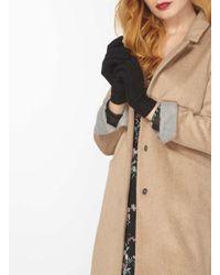 Dorothy Perkins - Black Microfleece Gloves - Lyst