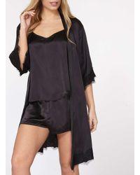 Dorothy Perkins - Black V-back Camisole Pyjama Set - Lyst