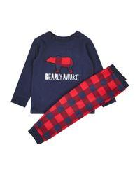 Dorothy Perkins - Red Boys 'bearly Awake' Pyjama for Men - Lyst