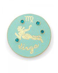 Draper James - Multicolor Zodiac Leather Pin - Lyst