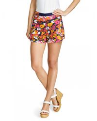 Draper James - Pink Darlin' Daisy Sailor Short - Lyst