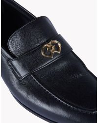 DSquared² - Black Philippe Loafers for Men - Lyst