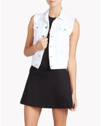 DSquared² | White Vest | Lyst