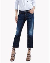 DSquared²   Blue Boyfriend Everyday Jeans   Lyst