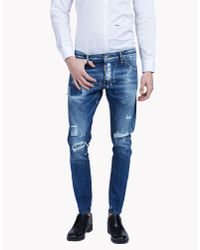 DSquared² | Blue Sexy Twist Jeans for Men | Lyst
