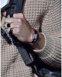 DSquared² - Metallic Piercing Bracelet for Men - Lyst