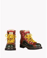 DSquared² - Green Saint Moritz Ankle Boots for Men - Lyst