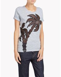 DSquared² - Gray Renny Fit T-shirt - Lyst