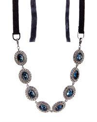 'S Max Mara - Blue Zampa Necklace - Lyst