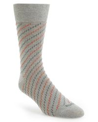 Etiquette | Gray 'step It Up' Socks for Men | Lyst