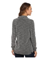 Bench | Black Inject Overhead Sweater | Lyst