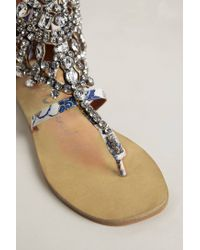 Jeffrey Campbell | Blue Diamant Sandals | Lyst