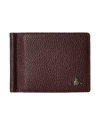Vivienne Westwood   Purple Leather Money Clip for Men   Lyst