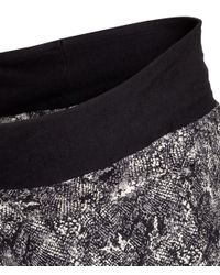 H&M - Gray Mama Patterned Trousers - Lyst