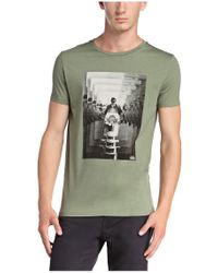 BOSS Orange | Green T-shirt 'timblin 2' In Cotton for Men | Lyst