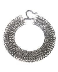 DANNIJO | Metallic Dayton Necklace | Lyst