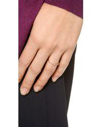 Gorjana - Pink Shimmer Bar Ring - Lyst