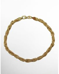 Lord & Taylor | 14k Yellow Gold Twist Bracelet | Lyst