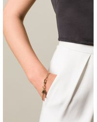 Marc By Marc Jacobs | Metallic Whistle Charm Bracelet | Lyst