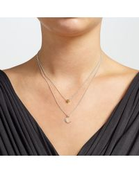 John Lewis | Metallic Moon And Star Double Necklace | Lyst