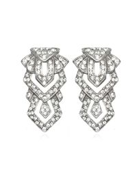 Ben-Amun | Metallic Geometric Deco Earrings | Lyst