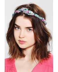 Urban Outfitters - Blue Pina Colada Headscarf - Lyst