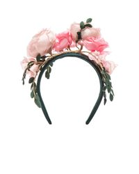 Maison Michel | Pink Betty Headband | Lyst