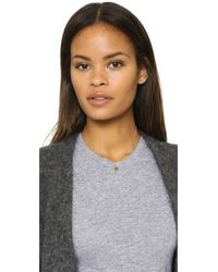 Alison Lou | Metallic Cool Small Necklace | Lyst