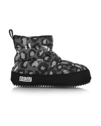 Marc By Marc Jacobs | Gray Macdougal Animal-print Shell Boots | Lyst