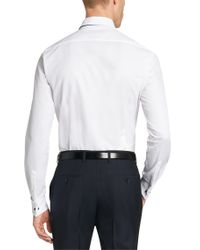 BOSS - White 'jaiden' | Slim Fit, Italian Cotton Dress Shirt for Men - Lyst