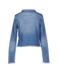 Vero Moda - Blue Denim Outerwear - Lyst