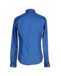 Robert Friedman - Blue Shirt for Men - Lyst