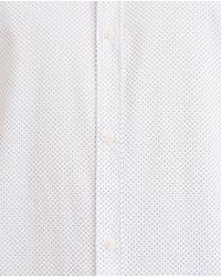 Zara | White Polka Dot Print Shirt for Men | Lyst