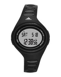 Adidas | Black 'adizero Basic Mid' Digital Watch | Lyst