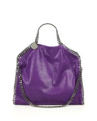 Stella McCartney | Purple Falabella Big Tote Bag Berry | Lyst
