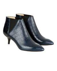 Hobbs - Blue Farrah Ankle Boot - Lyst