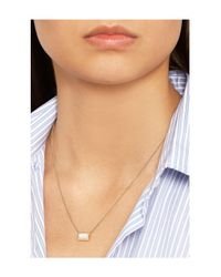 Ippolita - White Rock Candy 18-Karat Gold Mother-Of-Pearl Necklace - Lyst