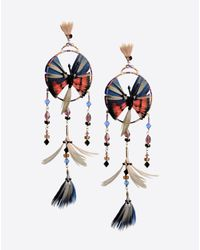 Valentino | Blue Dream Catcher Earrings | Lyst
