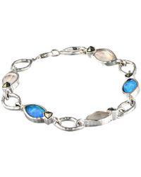 Judith Jack - Blue Sea Line Bracelet - Lyst