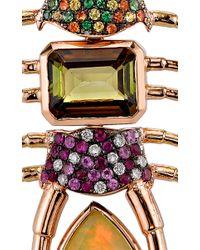 Daniela Villegas | Multicolor One Of A Kind Empress Centipede Necklace | Lyst