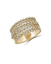 Effy | Doro Diamond And 14k Yellow Gold Ring, 0.81 Tcw | Lyst