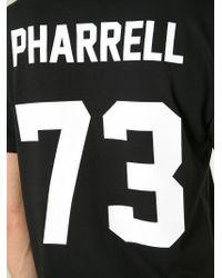 LES (ART)ISTS - Black 'Pharrell' T-Shirt for Men - Lyst