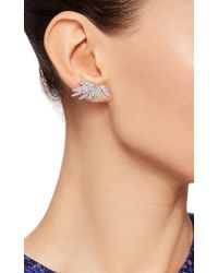 AS29 - Metallic Bamboo Full Stud Earrings - Lyst