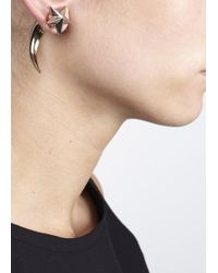Givenchy | Metallic Gold Tone Shark Earring | Lyst